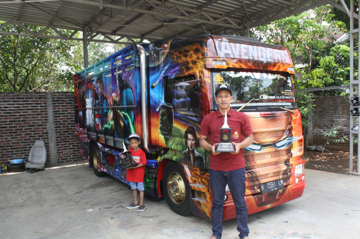 Keren, Truk Ini Sabet The Best King of Truck Modification 2018